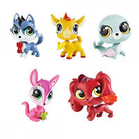 Зверюшка с украшением Littlest Pet Shop (5 видов)